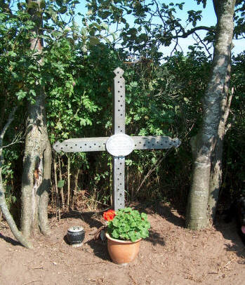 The Memorial Cross at the Crash Field
